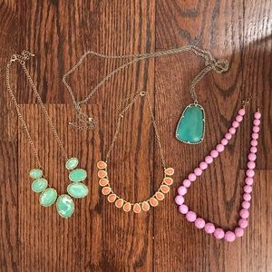 Jewelry - Set of 4 Beautiful Necklaces